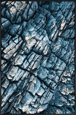 Raw 8 Mýrdalsjökull Iceland - Poster im Kunststoffrahmen