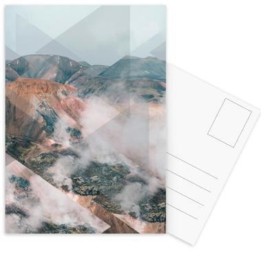 Scattered 4 Landmannalaugar -Postkartenset