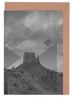 Scattered 4 Monument Valley -Grußkarten-Set