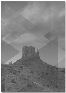 Scattered 4 Monument Valley -Notizblock