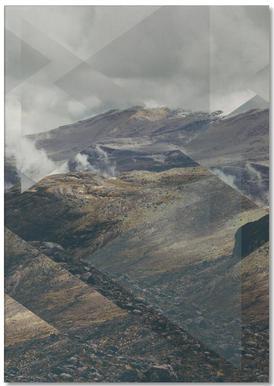 Scattered 4 Nevado del Ruiz -Notizblock