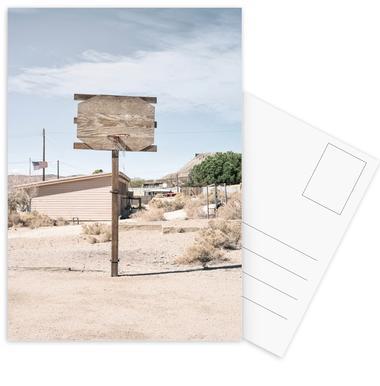 Streetball Courts 2 California USA -Postkartenset