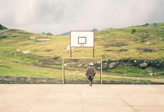 Streetball Courts 2 El Cocuy Colombia -Alubild