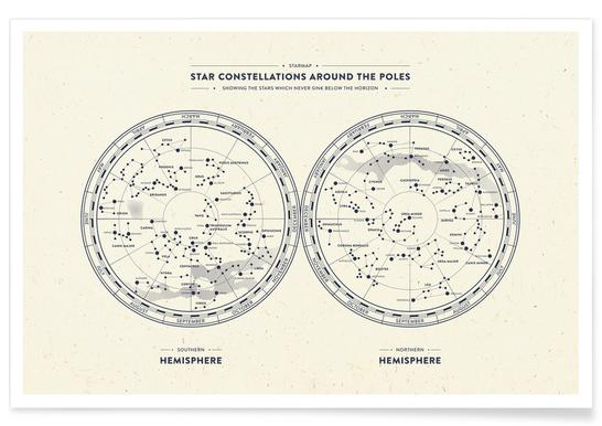 Starmap Light -Poster