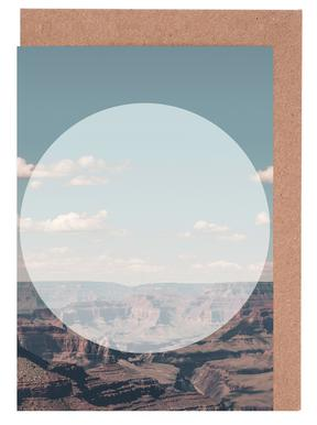 Grand Canyon Circular Greeting Card Set