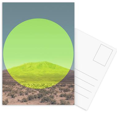 Salar de Uyuni Circular -Postkartenset