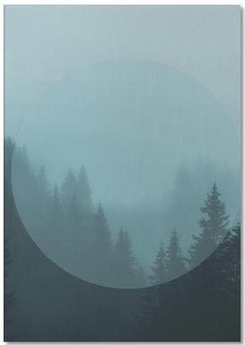Landscapes Circular 2 Karwendel Notepad