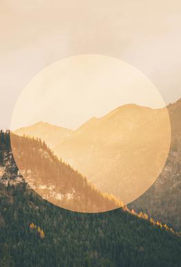 Landscapes Circular 2 Alps