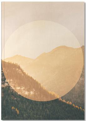 Landscapes Circular 2 Alps Notebook