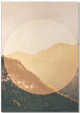 Landscapes Circular 2 Alps Notepad
