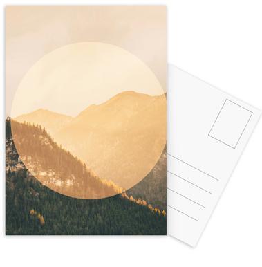 Landscapes Circular 2 Alps Postcard Set