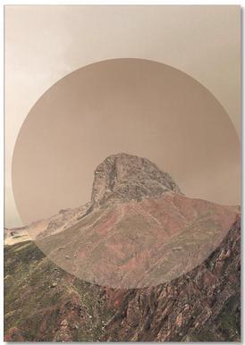 Landscapes Circular 2 Andes Notepad