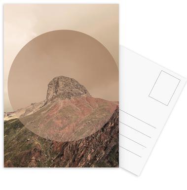 Landscapes Circular 2 Andes Postcard Set