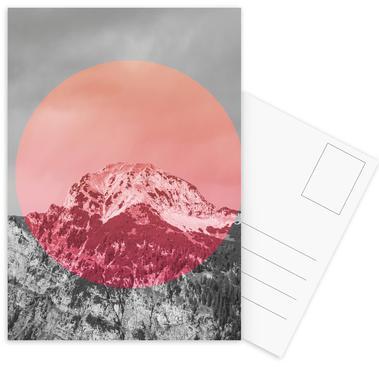 Landscapes Circular 2 Chacaltaya Postcard Set