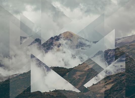 Scattered 2 Nevado del Ruiz -Leinwandbild