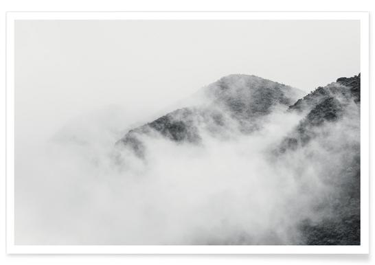 Nevado del Ruiz-Kolumbien-Fotografie -Poster