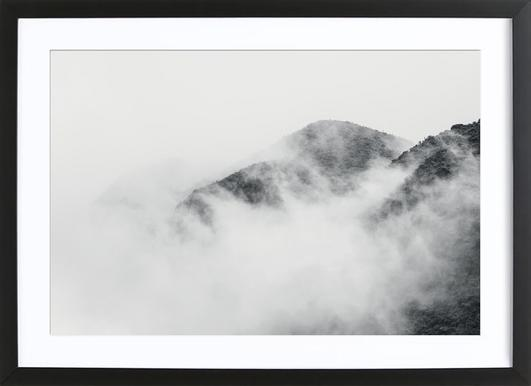 Raw 1 Nevado del Ruiz Colombia Framed Print