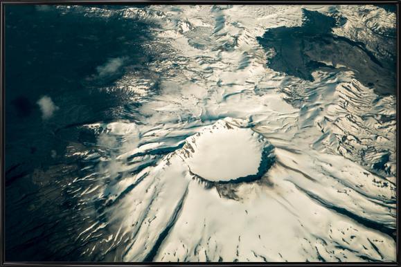 Raw 1 Villarrica Chile -Bild mit Kunststoffrahmen
