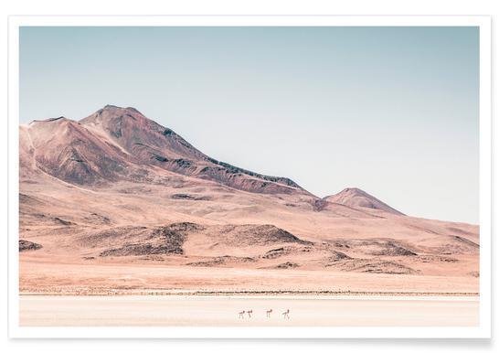 Salar de Uyuni-Bolivien-Fotografie -Poster