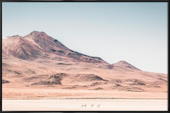 Raw 2 Salar de Uyuni Bolivia. Framed Poster