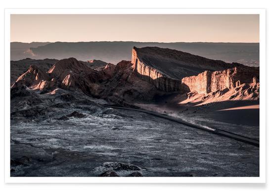 Valle de la Luna Chile Photograph Poster