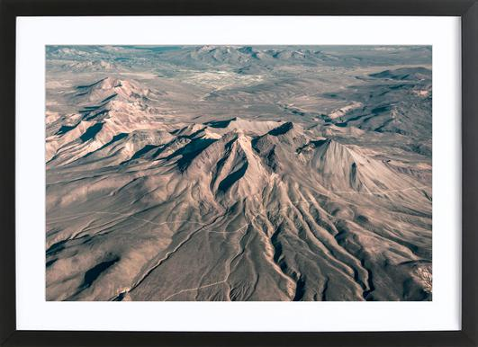 Raw 3 Andes Chile Framed Print