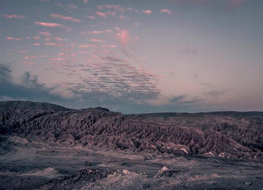 Raw 3 Valle de la Luna Chile. Canvas Print