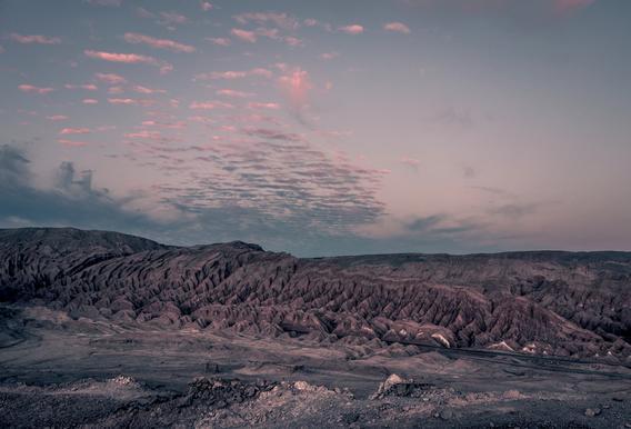 Raw 3 Valle de la Luna Chile. Acrylic Print