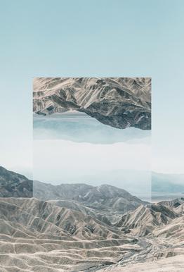 Mirrored 1 Death Valley