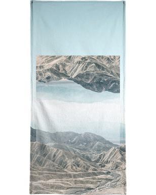 Mirrored 1 Death Valley Bath Towel