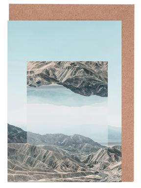 Mirrored 1 Death Valley Greeting Card Set