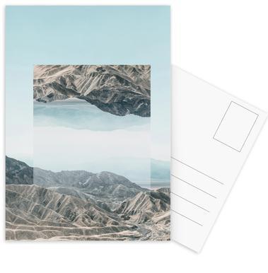 Mirrored 1 Death Valley Postcard Set