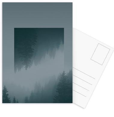 Mirrored 1 Forest Postcard Set