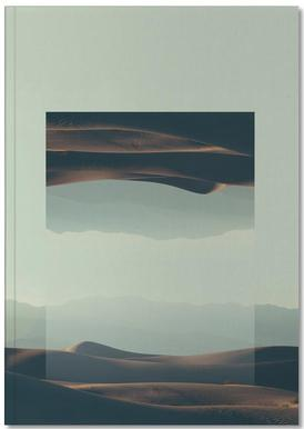 Mirrored 2 Death Valley Notebook