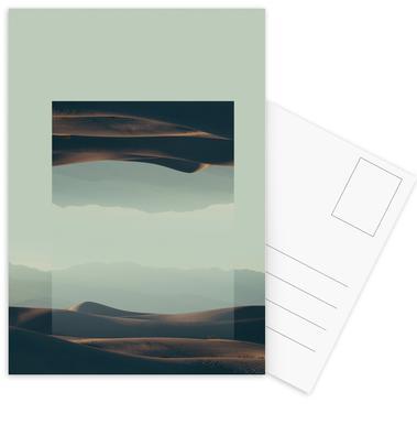Mirrored 2 Death Valley Postcard Set