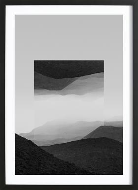 Mirrored 2 El Cocuy Framed Print
