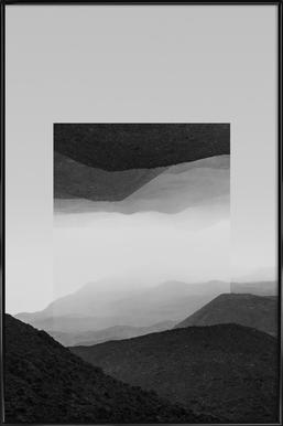 Mirrored 2 El Cocuy Framed Poster