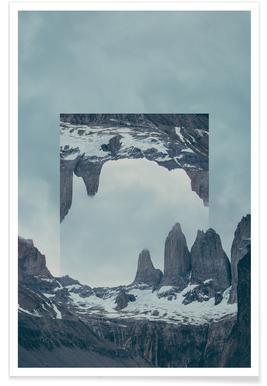 Torres del Paine Photograph Poster