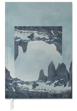 Mirrored 2 Torres del Paine Personal Planner