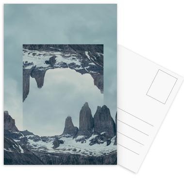 Mirrored 2 Torres del Paine Postcard Set