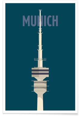 Munich - Premium poster