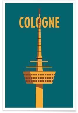 Cologne - Premium Poster