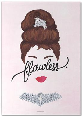 Flawless Audrey Notepad