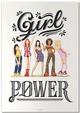 Girl Power notitieblok