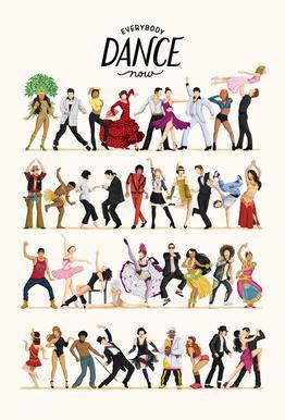 Everybody Dance Now -Alubild