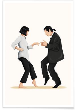 Pulp Fiction Dance póster