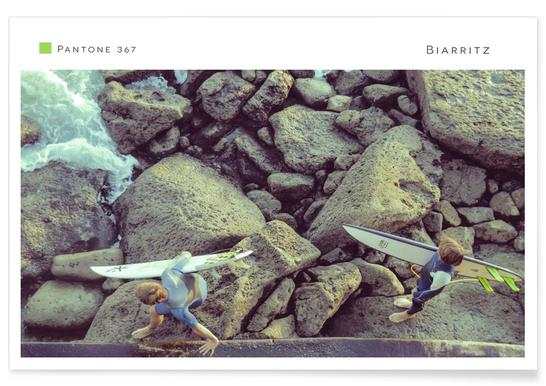 Biarritz 367 Poster