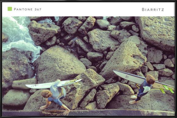 Biarritz 367 Framed Poster
