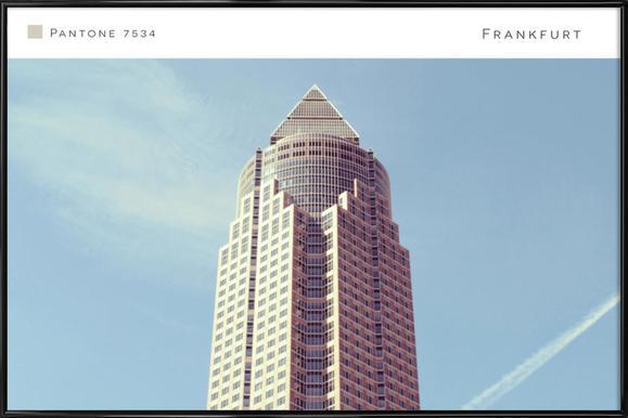 Frankfurt 7534 -Bild mit Kunststoffrahmen