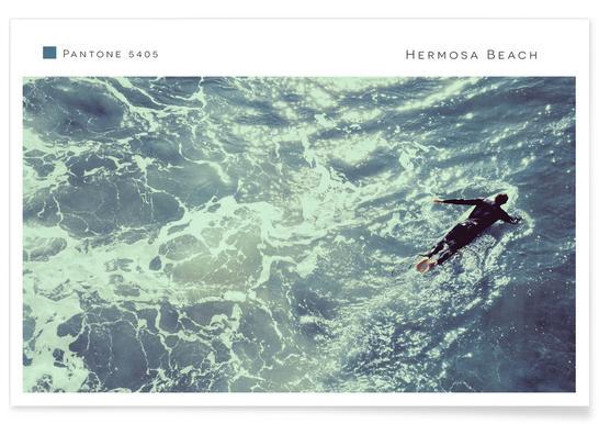 Hermosa Beach 5405 Poster